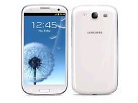 Samsung Galaxy S3 White (Unlocked) in good condition
