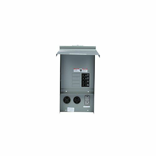 Siemens TL137US Talon Temporary Power Outlet Panel with a 20, 30, and 50-Amp