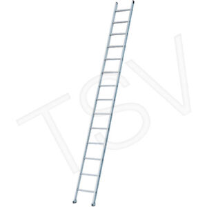 Industrial Heavy-Duty Aluminum Straight Ladders