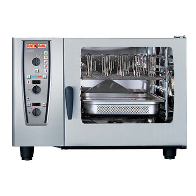 Rational Model 62 A629206.19d202 Gas Combi Oven With Six Full Size Sheet Pan Ca