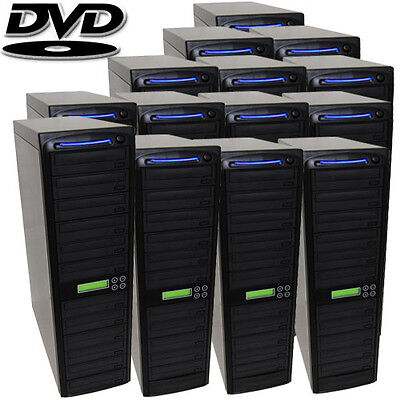 Produplicator 1 to 300 CD/DVD SATA Daisy Chain Duplicator wi