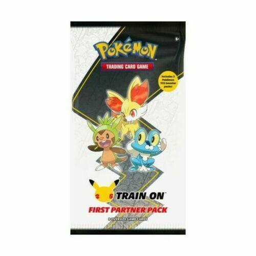 Pokemon First Partner   3 Jumbo KALOS Cards + 2 Booster Packs New Sealed