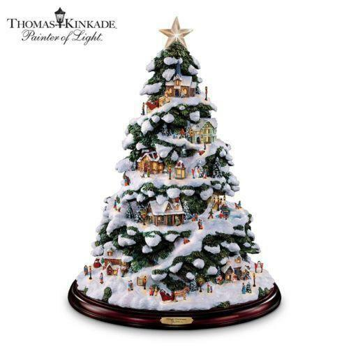 Thomas Kinkade Christmas Tree Ebay