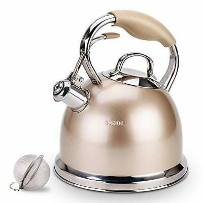 Sotya Best Teakettle Whistling Stainless Steel stove top Teapot 2.75