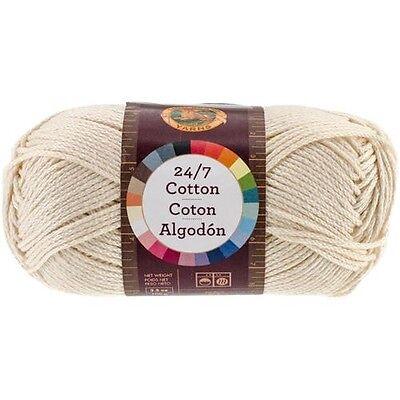 Lion Brand 24/7 Cotton Yarn - 517139