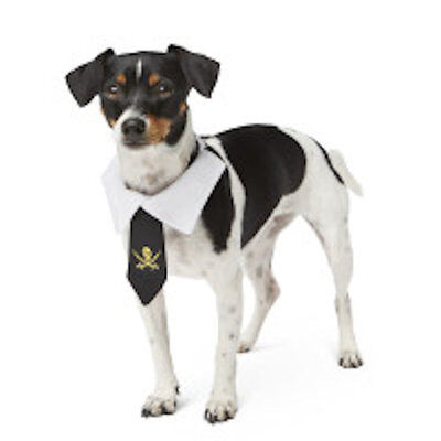 Top Paw Pirate Necktie Dog Costume L - NWT - SALE BENEFITS RESCUE CHARITY