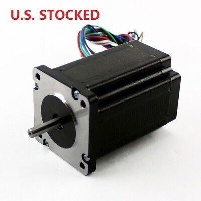 4pcs Nema23 425ozin 2.8a Stepper Motor Dual Shaftkl23h286-20-8b