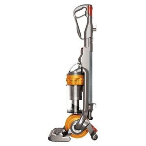 Dyson DC25 Multi Floor Vacuum, Iron and Satin Yellow
