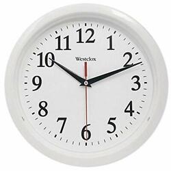 Westclox (White 461761 Basic Wall Clock, 10