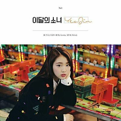 MONTHLY GIRL LOONA - YeoJin Single Album, New & Sealed, Free tracking number