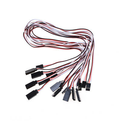 10pcs 50cm Length Male to Female Servo Extension Lead Wire Cable for RC Ly