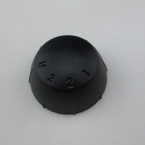 blk black plastic knob dial speed control