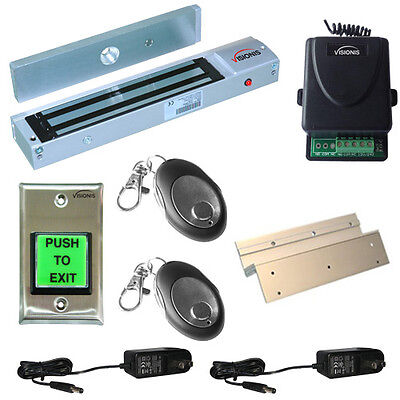FPC-5013 One door Access Control Inswinging door 600lbs Electromagnetic lock kit