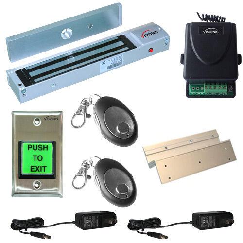 FPC-5013 One door Access Control Inswinging door 600lbs Electromagnetic lock kit