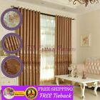 With Grommet Curtain Window Curtains