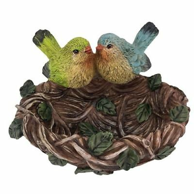 New Delton Birds on a Nest Figurine or Bowl