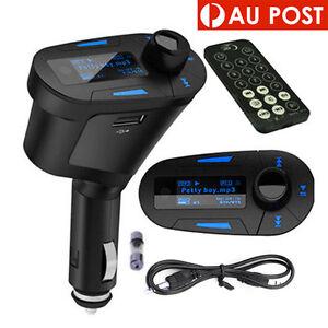 Car Kit MP3 Player Universal Wireless USB FM Transmitter Modulator Remote OZ
