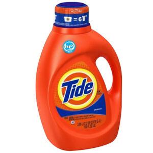 Tide Original Scent Liquid Laundry Detergent, 64 loads, 100
