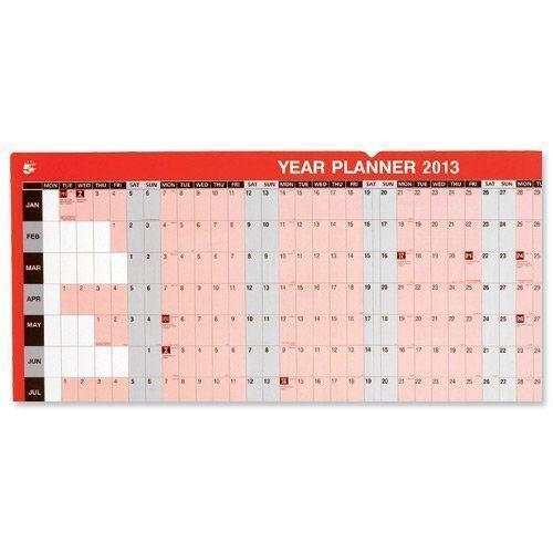Big Calendar Planner : Large year planner calendars ebay