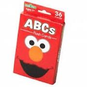 Sesame Street Flash Cards