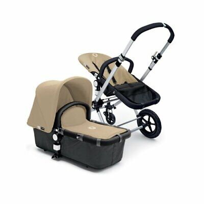 Baby Strollers Fabric Fleece Set Canopy Apron Seat Cover Bugaboo Cameleon Sand