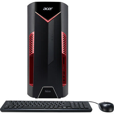 Acer Nitro 50 Desktop Intel i5-8400 2.80GHz 12GB Ram 256GB SSD Windows 10 Home