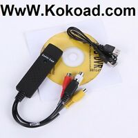 For Sell USB 2.0 Audio Video VHS to DVD Converter Card Adapter C