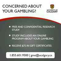 ARE YOU GAMBLING TOO MUCH?