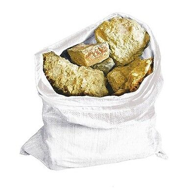 10 x Heavy Duty Rubble Sacks 70gsm Woven Resuable Bag