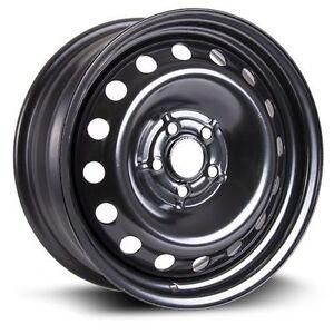 16x6.5 steel wheels 5x100 Toyota, Subaru,