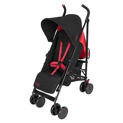 Maclaren Mac M-01 Stroller ~~ Black Red~~ Brand New