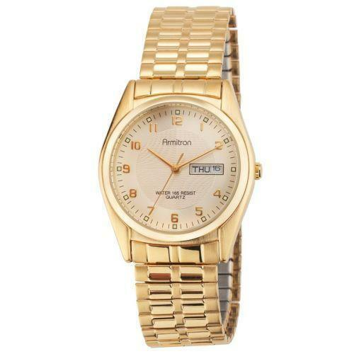 mens armitron gold watches ebay