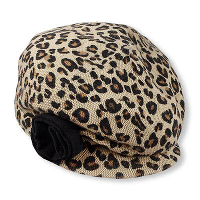 The Childrens Place Leopard Newsgirl Cap Size L 2 4 Years