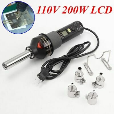 Bga Nozzle For 110v 220w 450 Lcd Soldering Station Hot Air Gun Ics Smd Desolder