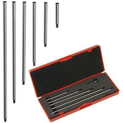 Dialdigital Indicator Extension Stem Rod Set 6 Pc 1 2 3 4 5 6 Combine To