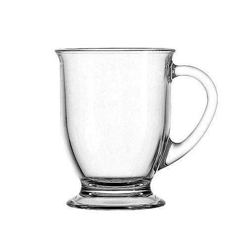 Clear Glass Coffee Mugs Ebay