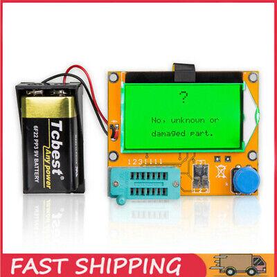 Lcr-t4 Lcd Esr Meter Transistor Tester Diode Triode Capacitance Scr Inductance