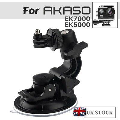 Suction Cup Mount (Car Windscreen Suction Cup Mount Holder for AKASO EK7000 EK5000 Action Cameras)