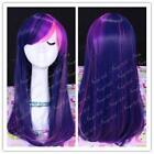 Purple Pink Cosplay Wig