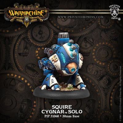 Warmachine: Cygnar Squire Solo PIP 31060 Privateer Press NEW