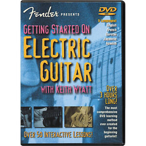 "BRAND NEW (Sealed) Fender ""Getting Started on Electric Guitar"""