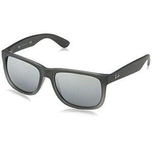 1c79340bd7 Authentic Ray-Ban Justin Sunglasses RB 4165 852 88 54mm Matt Grey ...