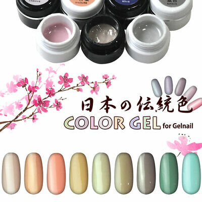 Traditional Gel (NEW Japanese Traditional Color gel 3g High quality Soak Off )