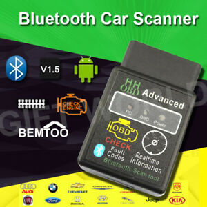 Bluetooth OBD II scan,read and clear codes 100% NEW