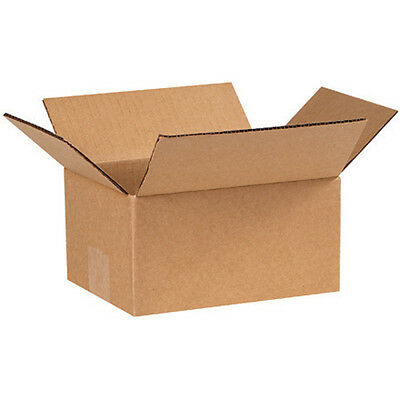 50 8x6x4 Small Packing Shipping Cardboard Moving Box Carton