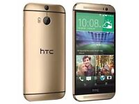 HTC One M9 - 32GB - Gold 3 GB Ram (Unlocked) Smartphone (160)