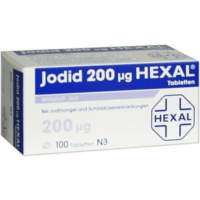 JODID 200 HEXAL Tabletten 100 St PZN 3105998