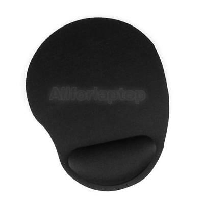 Gel Mauspad Mausepad Maus Pad mit Silikon Handauflage Wrist Rest Pads Schwarz