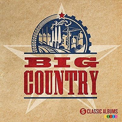 BIG COUNTRY 5 CLASSIC ALBUMS 5CD ALBUM SET (2016 Release)