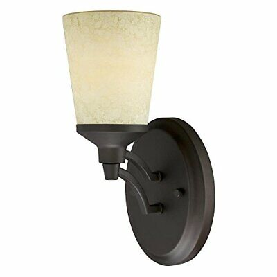 Westinghouse 6302100 Malvern One-light Indoor Wall Fixture Oil Rubbed Bronze